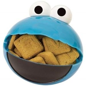 Cookie Monster Snack O Sphere Snack Container